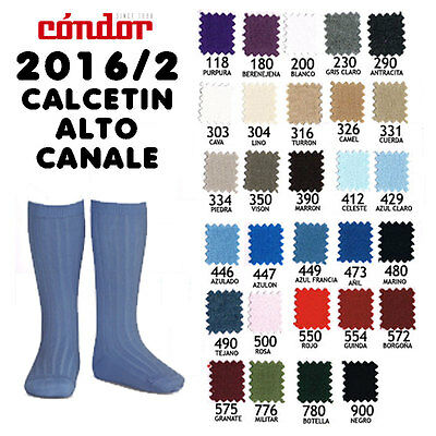 Traditional Spanish Condor Knee high socks with pom poms, various colours & size