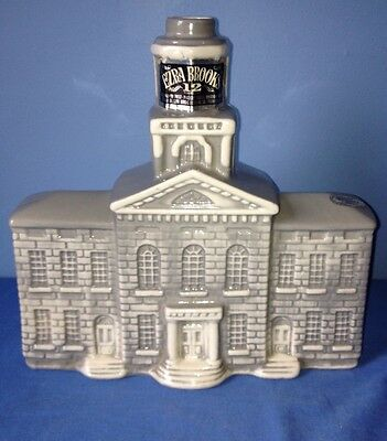 Vintage EZRA Brooks Bourbon Whiskey New Hampshire State House 1969 Decanter