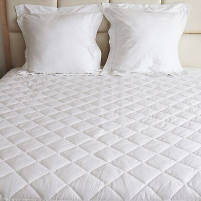 Plain Luxury Quilted Mattress Protector Available In All Sizes