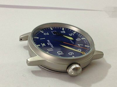 Fortis Flieger Gents Watch, Complete Case,new(Blue Dial)Great Looking