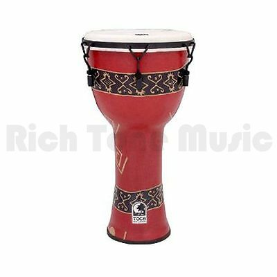 Toca SFDMX-12RP 12 Inch Freestyle Djembe - Mech Tuned - Bali Red