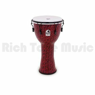 Toca TF2DM-10RM 10 Inch Freestyle II Djembe - Mech Tuned - Red Mask