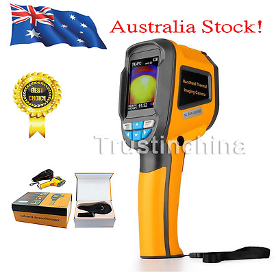 Precision Protable Thermal Imaging Camera Infrared Thermometer Imager HT-02 AU
