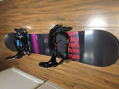 For Sell or To Swap Nitro Team Gullwing Snowboard+Bindings+Boots to a Ski set