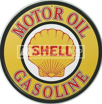 Bar / Garage / Memorabilia Sign (Shell Motor Oil Gasoline) - Msi-830