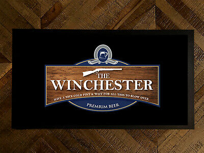 The Winchester Shaun of the Dead Beer Label Bar runner pubs clubs & Cocktail