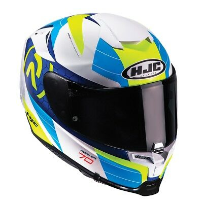 HJC RPHA 70  RPHA70 LIF BLUE SPORTS TOURING Full Face Motorcycle  Helmet