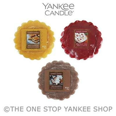 Yankee Candle Cookie Swap Collection Tart Wax Melt Variety