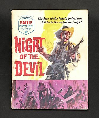 Battle Picture Library #62 - 'Night Of The Devil' (Fleetway 1962)