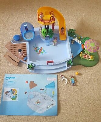 Playmobil Swimming Pool Summer Fun With Figures 4 7 Years Picclick Uk