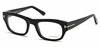 TOM FORD FT5415 001 SHINY BLACK 50mm OPTICAL Rx EYEGLASS FRAMES MADE IN ITALY