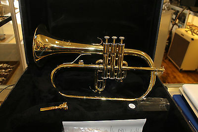 Blessing Model 1540 Artist Professional Flugelhorn with Curry Mouthpiece NICE!