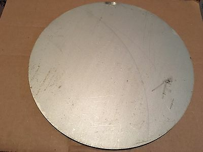 (1)pc. 1/2 INCH X 14 INCH 304 STAINLESS STEEL ROUND/DISC PLATE