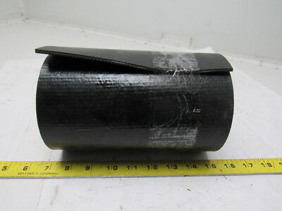 "1-Ply Smooth Top Black PVC Rubber Conveyor Belt 30' X 7-7/8"" X 0.160"""