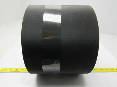 "Black Nylon Top/Bottom Rubber Core Conveyor Belt 85' X 7-3/4"" X 0.0085"""