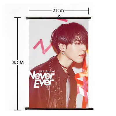 Kpop GOT7 YuGyeom Hanging Painting Wall Scroll Poster Home Decor