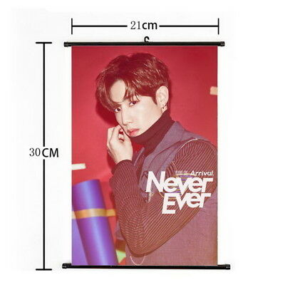 Kpop GOT7 Mark Hanging Painting Wall Scroll Poster Home Decor