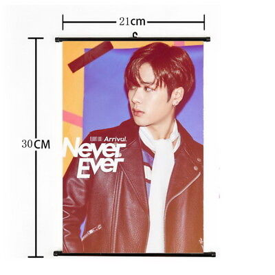 Kpop GOT7 Jackson Hanging Painting Wall Scroll Poster Home Decor