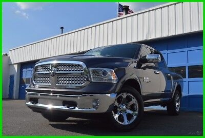 2016 Ram 1500 Laramie Navigation Package Heated & Ventilated Leather Seats Parking Sensors Alpine Save