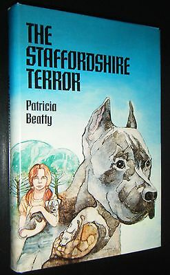 Staffordshire Terror Patricia Beatty Steve Marchesi Cover Dog Fighting Terrier