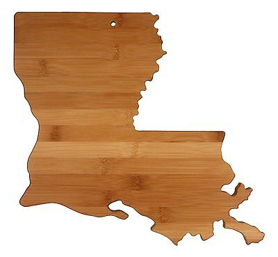 Totally Bamboo State Cutting & Serving Board, Louisiana