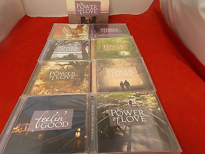THE POWER OF LOVE (8-CD BOX SET)1-MISSING  TIME LIFE  NEW ALL Sealed Free Ship
