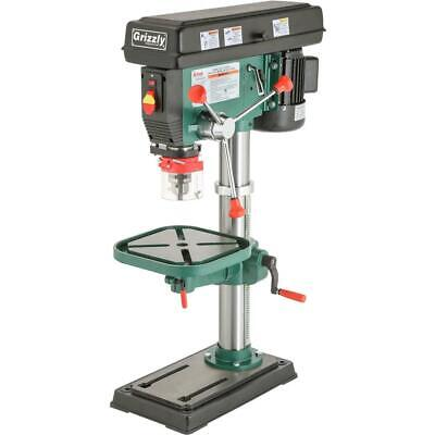 G7943 Grizzly 12 Speed Heavy-Duty Bench-Top Drill Press