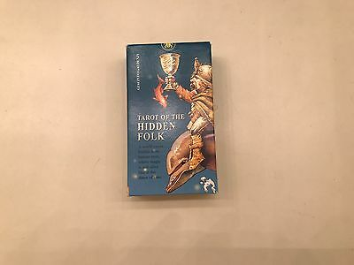 Tarot of the Hidden Folk Mint Condition RARE OUT OF PRINT DECK