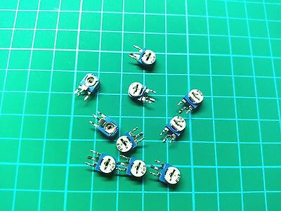 5PCS / 10PCS Potentiometer Vertical Trimpot Trimmer Variable Resistor WH06-1
