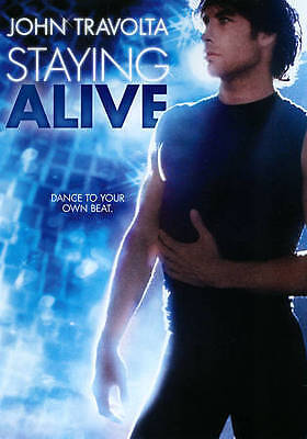 STAYING ALIVE  rare Disco dvd JOHN TRAVOLTA Dance 1983