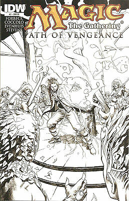 Magic The Gathering #2  Path of Vengeance  Retailer Incentive Cover
