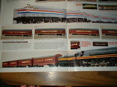 "Lionel #18040 Norfolk & Western ""j"" With 6 Pass. Cars"