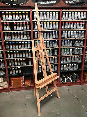 Large Adjustable Wooden Artist Easel