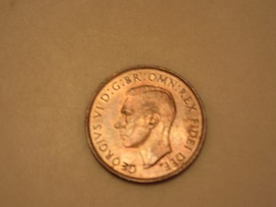 1951 Great Britain One Penny UNC**rarest modern date**