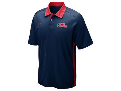 9dabea4a6 NEW OLE MISS Mississippi Rebels Nike Dri Fit Coaches Elite Polo Shirt Size  3XL - $42.46 | PicClick