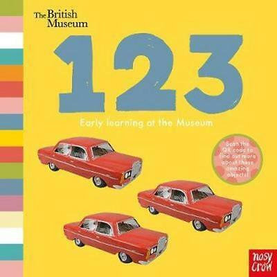 NEW The British Museum 123 By British Museum Board Book Free Shipping