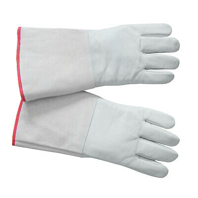 HFS Cryogenic Gloves Ln2 Protective Gloves Liquid Nitrogen 13.8 Inch Low Tempt