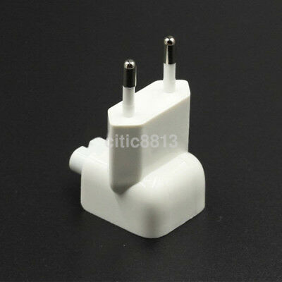 EU Power Adapter Charger Wall Plug Duck Head Connector For iPad Macbook Pro CA