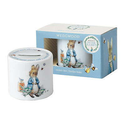 NEW Wedgwood Peter Rabbit Boy Moneybox Reduced Price!