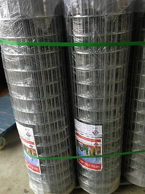 30m Roll Welded Wire Mesh/Aviary/Dog Fence / Animal / Garden/ Pet/ Chicken Fence