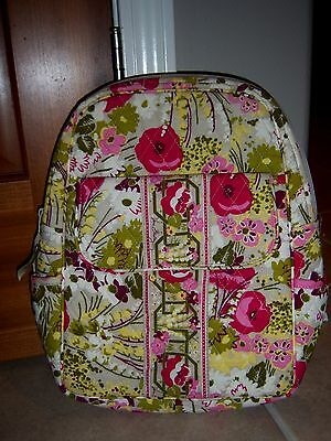 Perfect Ln Condition ! Vera Bradley Make me Blush Small Backpack