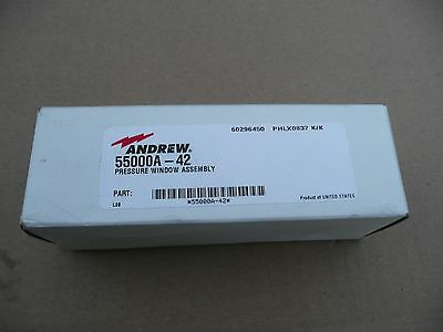 Andrew - Commscope 55000A-42 Pressure Window Assembly, WG-42 Waveguide