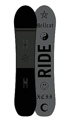 Ride Womens Snowboard - Hellcat 146cm - All-mountain, Directional Hybrid - 2017