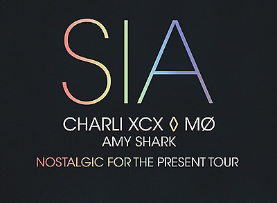 Sia Melbourne Gold Reserved Tickets X 2