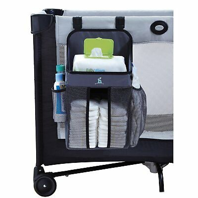 hiccapop Playard Nursery Organizer and Diapers Organizer | Baby Diaper Caddy | |