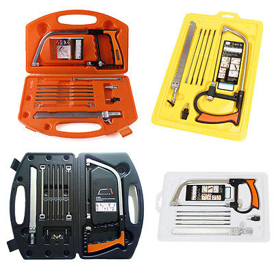 11-in-1- Universal Saw Hand  Home Tools Set Steel Glass Wood Working Cutting
