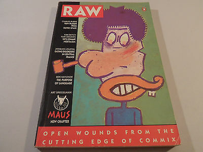 Raw Art Spiegelman Maus Katchor Loustal Kim Deitch Charles Burns Vol 2 No 1 1989