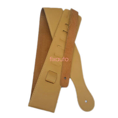 Adjustable Leather Strap For Electric Acoustic Guitar Bass Rhythm Guitar fo12