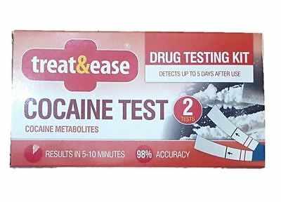 Cocaine Test Drug Testing Kit Screening Detector Home Accurate Results