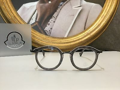 Moncler Eyeglasses occhiale vista ML5007 Col.020 Grey Clear New Collection 2017